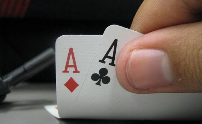 Wrong way to play pocket aces