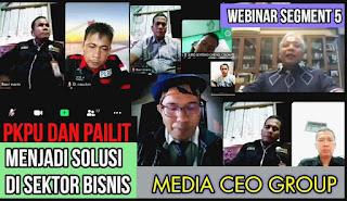 Webinar CEO Group Sesi Lima