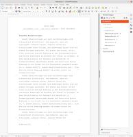 Normseite in LibreOffice