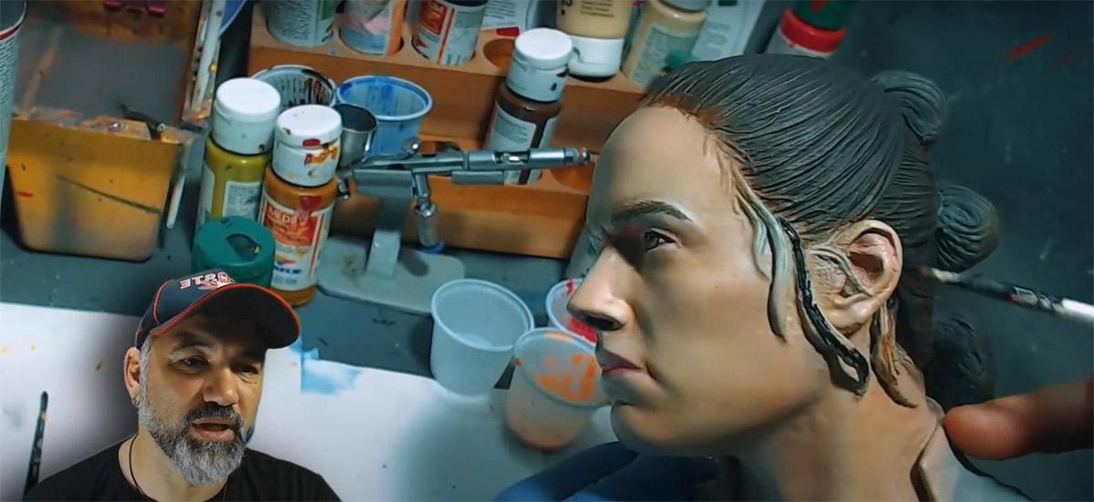 Marcelo Vigolo disponibiliza live na íntegra com dicas de acabamento e pintura em impressão 3D
