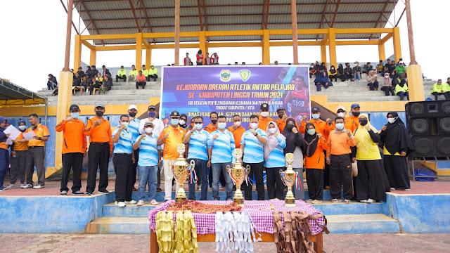 Kejurda Atletik 2021, Nizar Harap Lingga Dapat Mempertahankan Juara Umum Tingkat Provinsi
