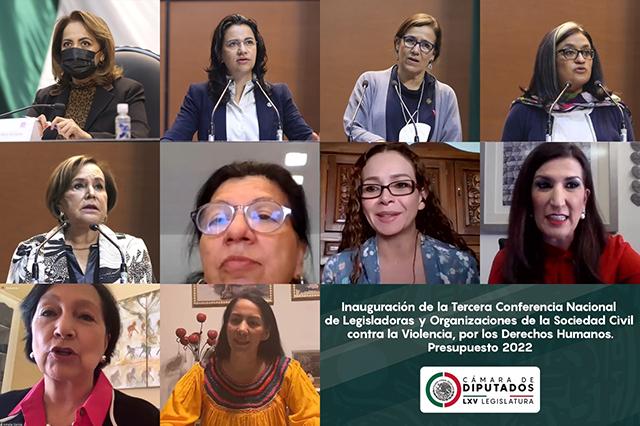 Piden que el PEF 2022 sea justo y en favor de mujeres y niñas