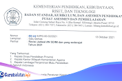 Revisi Jadwal Asesmen Nasional SD/MI Terbaru 2021