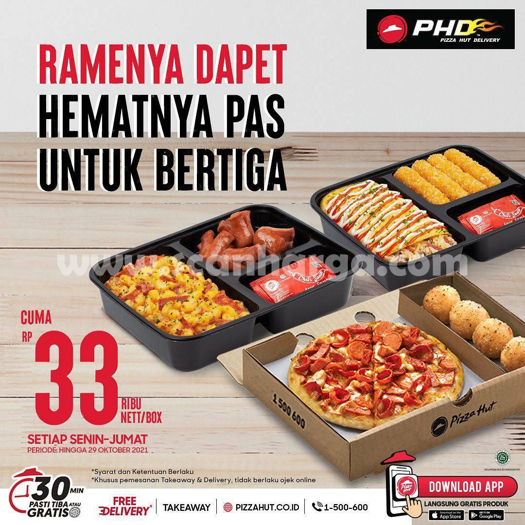 Promo PHD Hemat Bertiga Cuma Rp. 33.000 nett