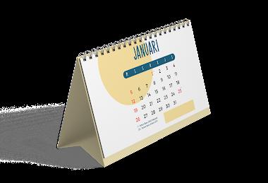 Pesan Jasa Cetak Sablon Kalender Yogyakarta Biaya Murah