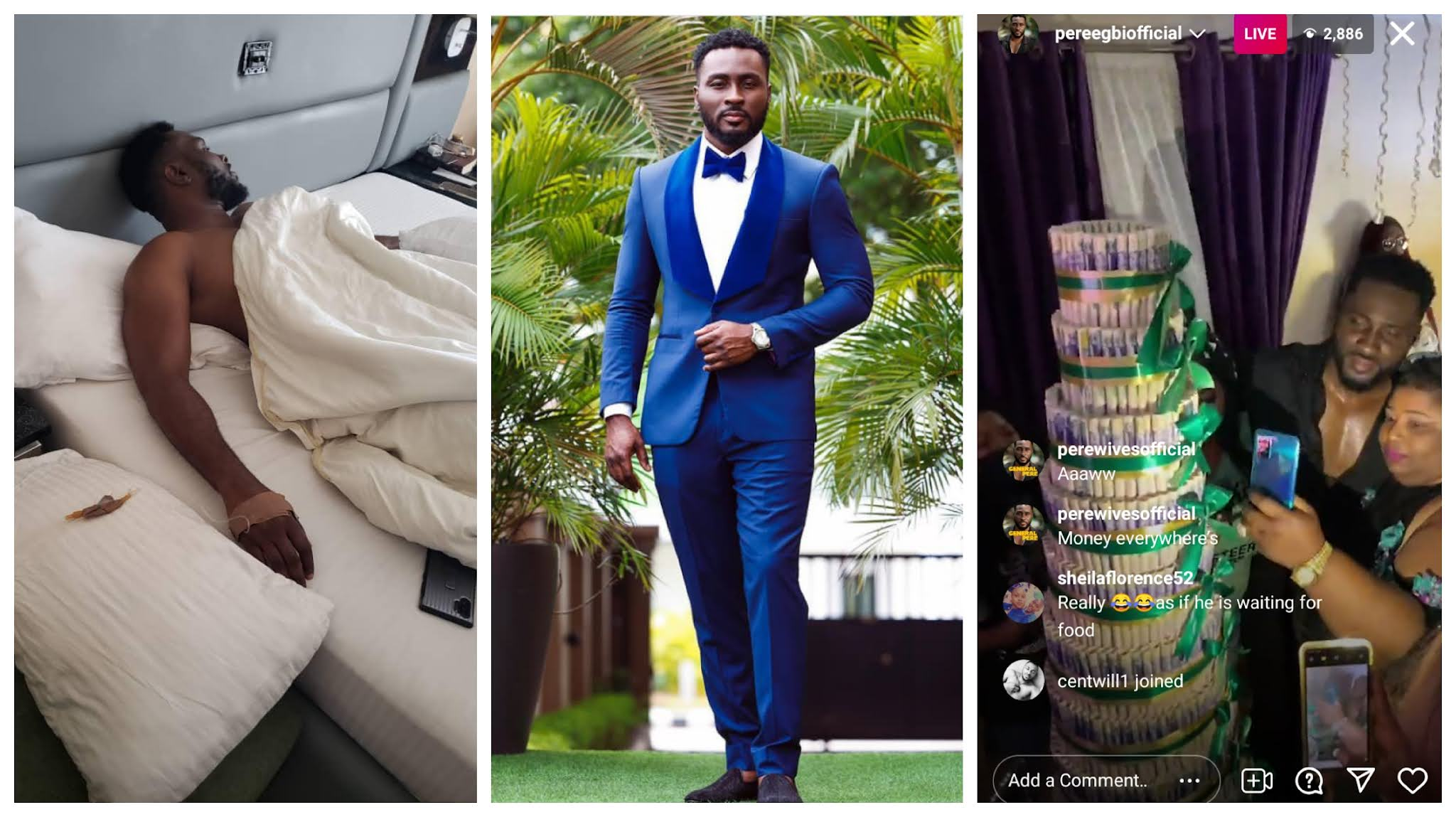 Pere hospitalized hours after his fans showered him with gifts (Video)
