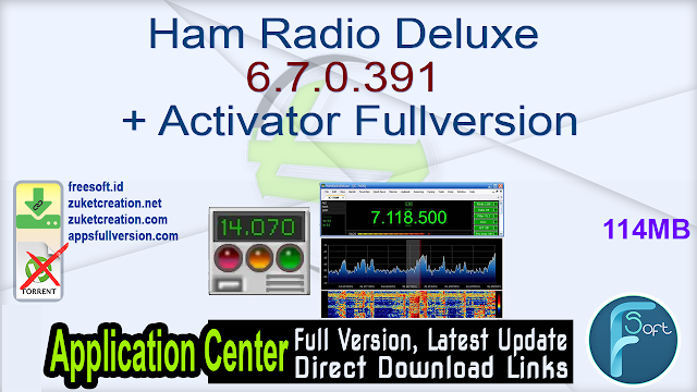 Ham Radio Deluxe 6.7.0.391 + Activator Fullversion