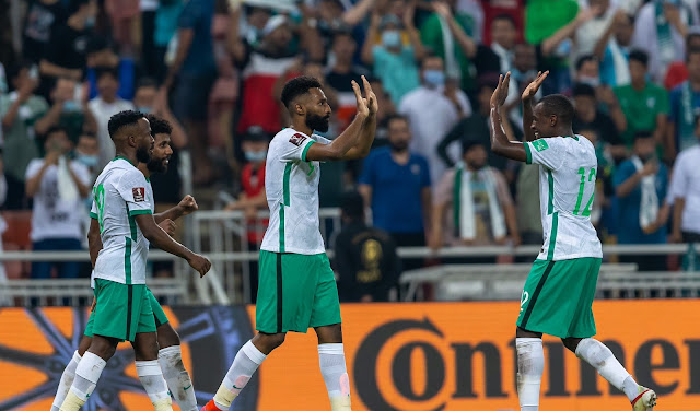 ملخص اهداف مباراة السعودية والصين (3-2) تصفيات كاس العالم
