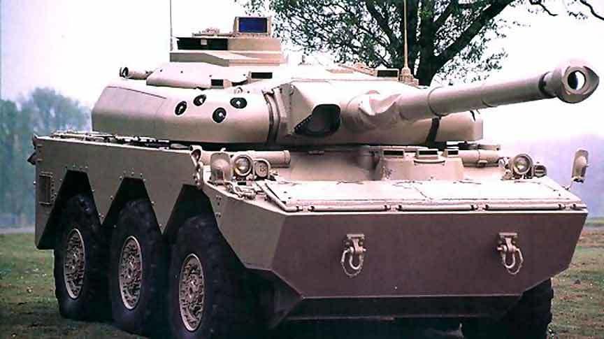 AMX-10RC з баштою TML 105