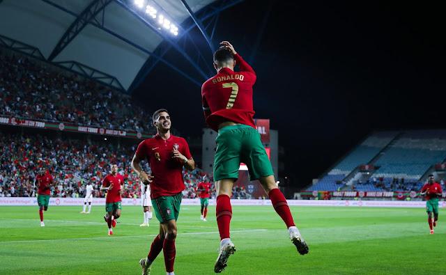 ملخص واهداف مباراة البرتغال وقطر (3-0) تصفيات كأس العالم