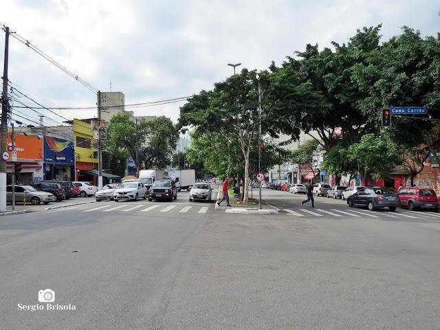 Vista de trecho da Rua Rui Barbosa - Bela Vista - São Paulo