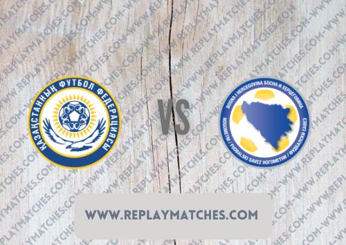 Kazakhstan vs Bosnia-Herzegovina Highlights 09 October 2021