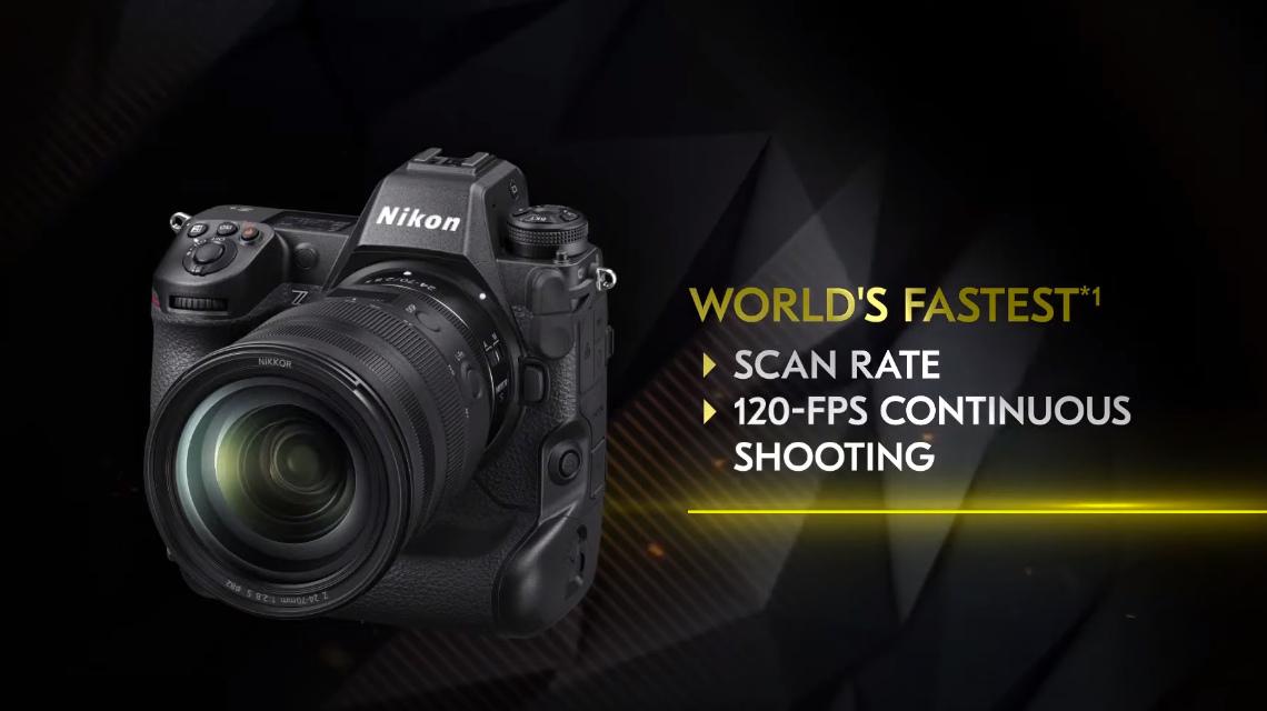 Скорость серийной съемки в Nikon Z9 целых 120 к/с