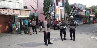 Antisipasi Tawuran, Polres Pelabuhan Makassar Tingkatkan Patroli serta Strong Point