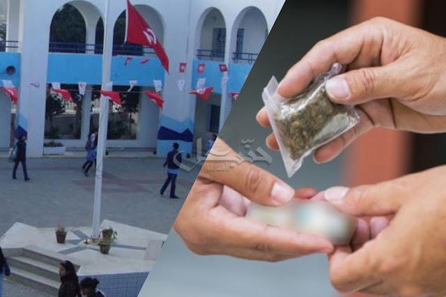 """المهدية : القبض على تلميذ يروّج """" الزطلة """" أمام المعهد ..!"""