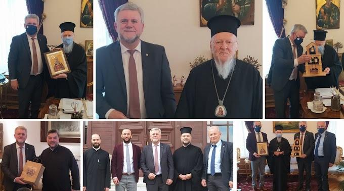 Το Οικουμενικό Πατριαρχείο Κωνσταντινουπόλεως επισκέφθηκε ο Δήμαρχος Σουλίου