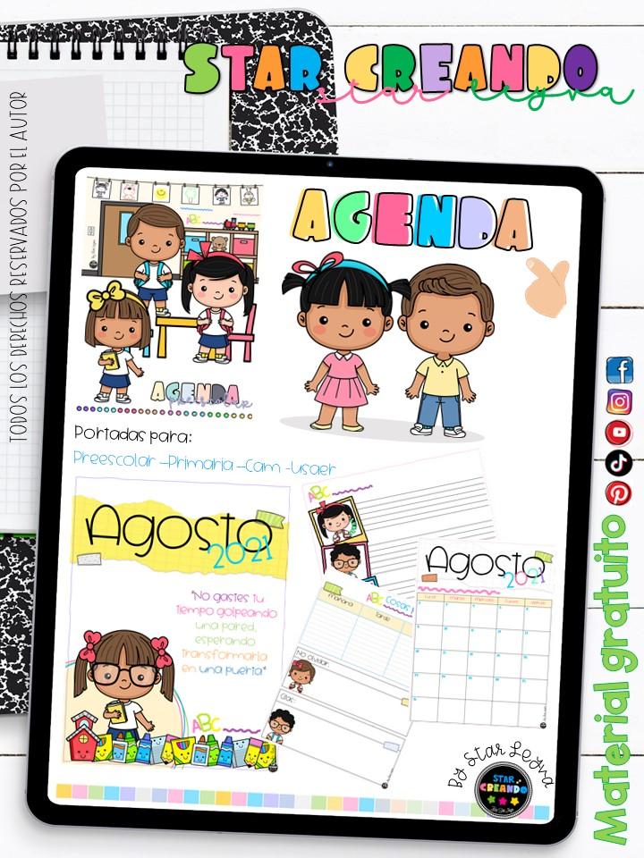 Calendario imprimible infantil gratis