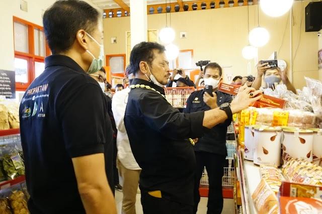 Mentan SYL Resmikan Kampung Singkong Salatiga