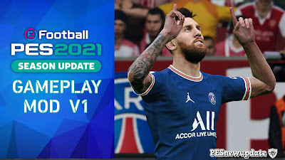 PES 2021 Gameplay Mod by PESNewupdate