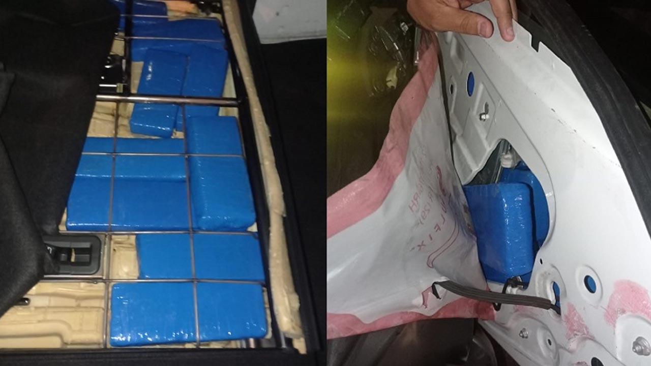 Polícia Rodoviária aprennde 78 tabletes de maconha em ITU