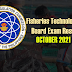 October 2021 Fisheries Technologist Board Exam Result