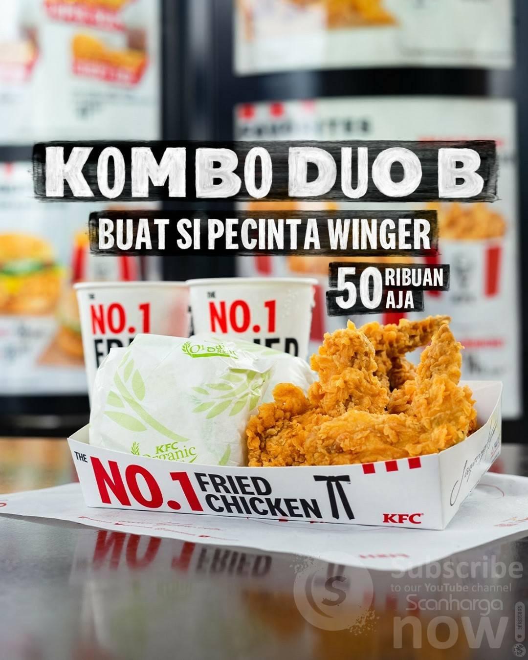 KFC KOMBO DUO B
