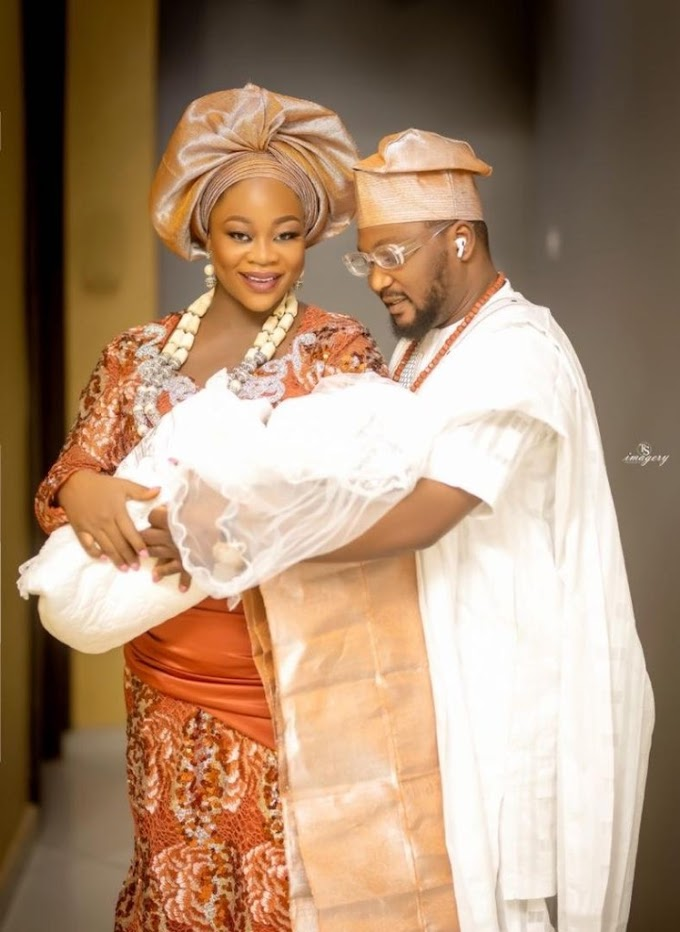 Makinde's Aide, Chairman Copacopana, Others Grace Prince Abass Aleshinloye Son Christening