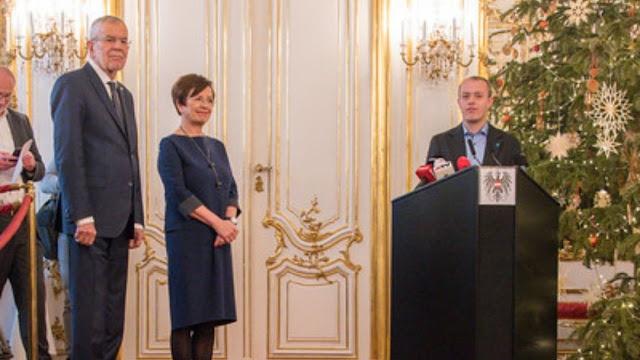 الرئيس,النمساوي,يستقبل,المستشار,ونائبه