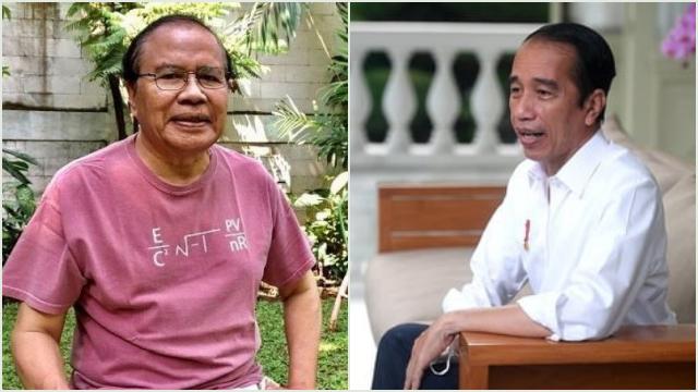 Desak Jokowi Mundur Lebih Cepat, RR: You Gak Becus! Kasih Kesempatan yang Lain