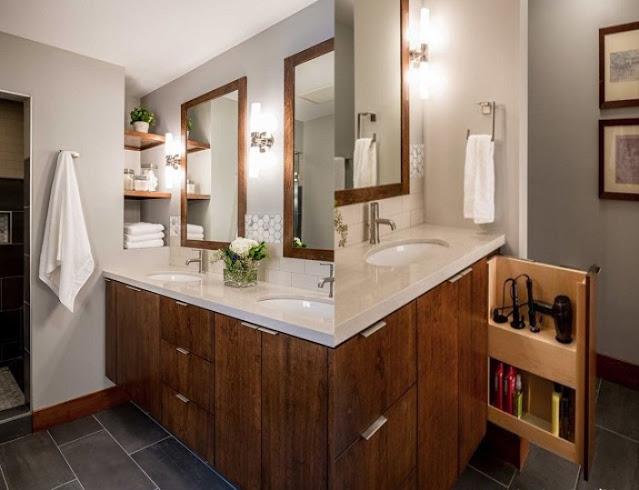 drawer design for bathroom