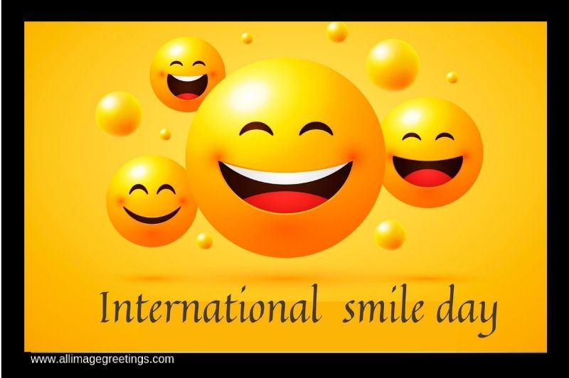 world smile day greetings
