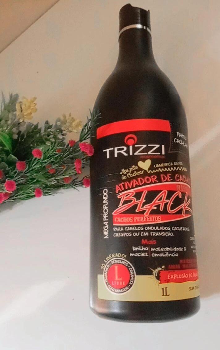 Creme de pentear, trizzi, black master, resenha