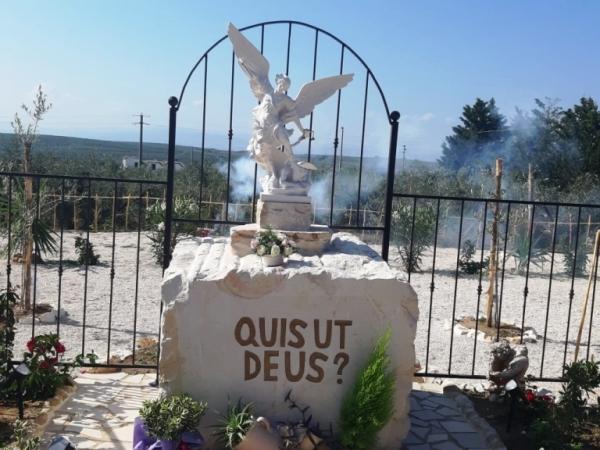 """Il """"Parco San Michele Arcangelo"""" è realtà. [VIDEO] Inaugurato a Torremaggiore nel quartiere Spirito Santo"""