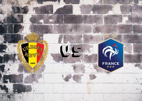 Bélgica vs Francia  Resumen y Partido Completo