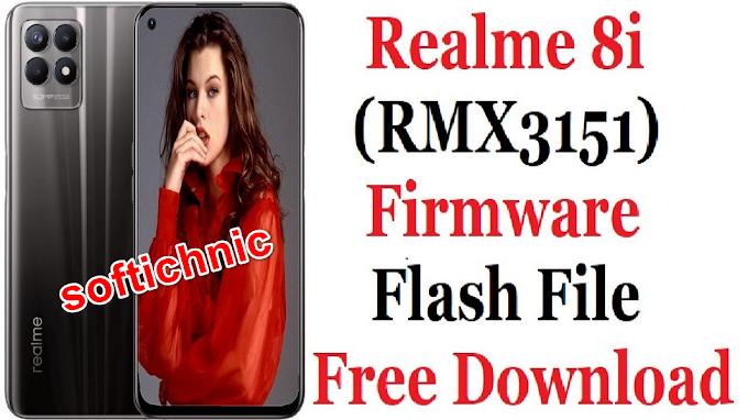 Realme 8i RMX3151 latest flash file