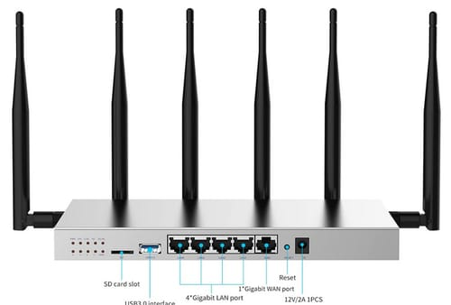 Zbtlink WG3526 4G LTE AC1200 Dual Band WiFi Router