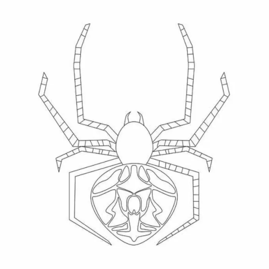 Funny Spider Coloring Pages PDF To Print