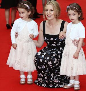 Picture of Joanne Froggatt with children