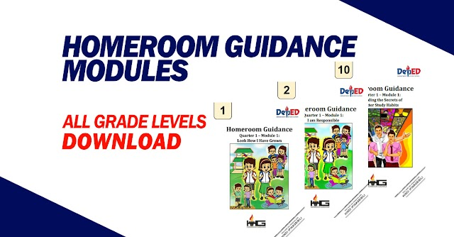 Homeroom Guidance Modules -Download