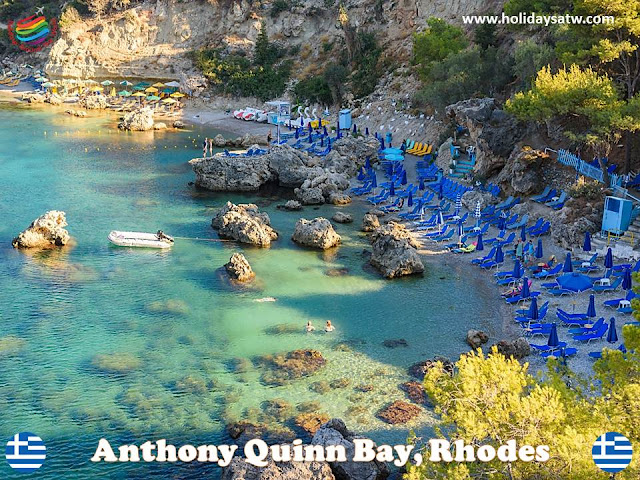 The most important entertainment places in Rhodes