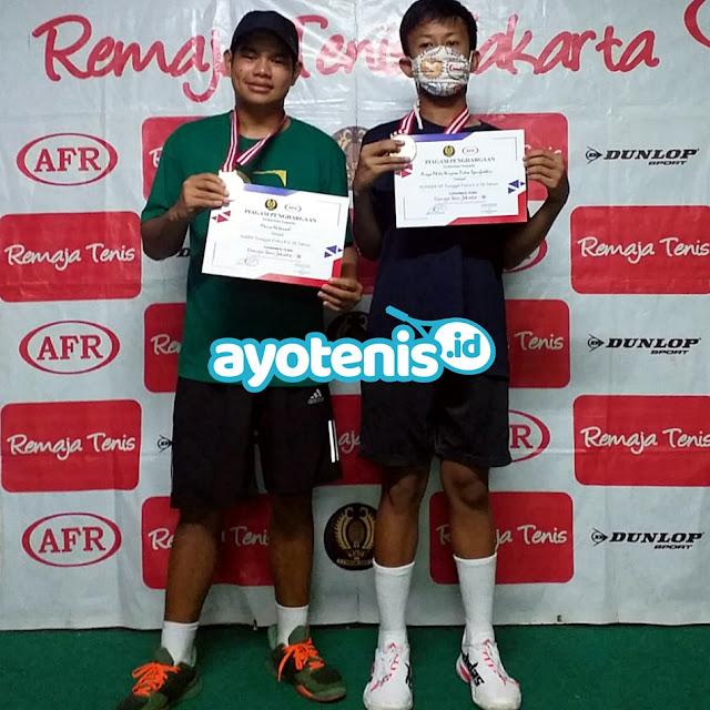 Petenis-Petenis Ibukota Borong Tiga Gelar Juara RemajaTenis Jakarta-96