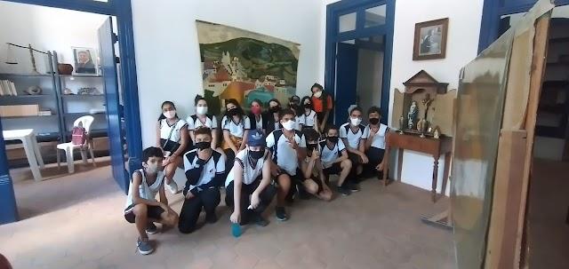 Museu histórico e Secretaria de Cultura de Brejo da Madre de Deus voltam a receber alunos para visitação