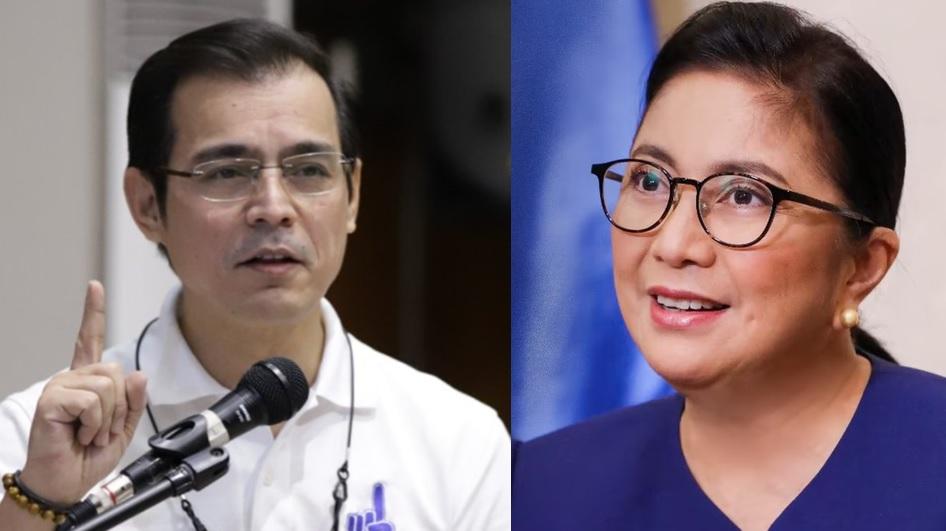 Mayor Isko Moreno has solid words for VP Leni Robredo