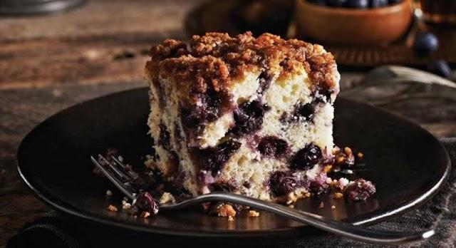 Συνταγή για κέικ με blueberries