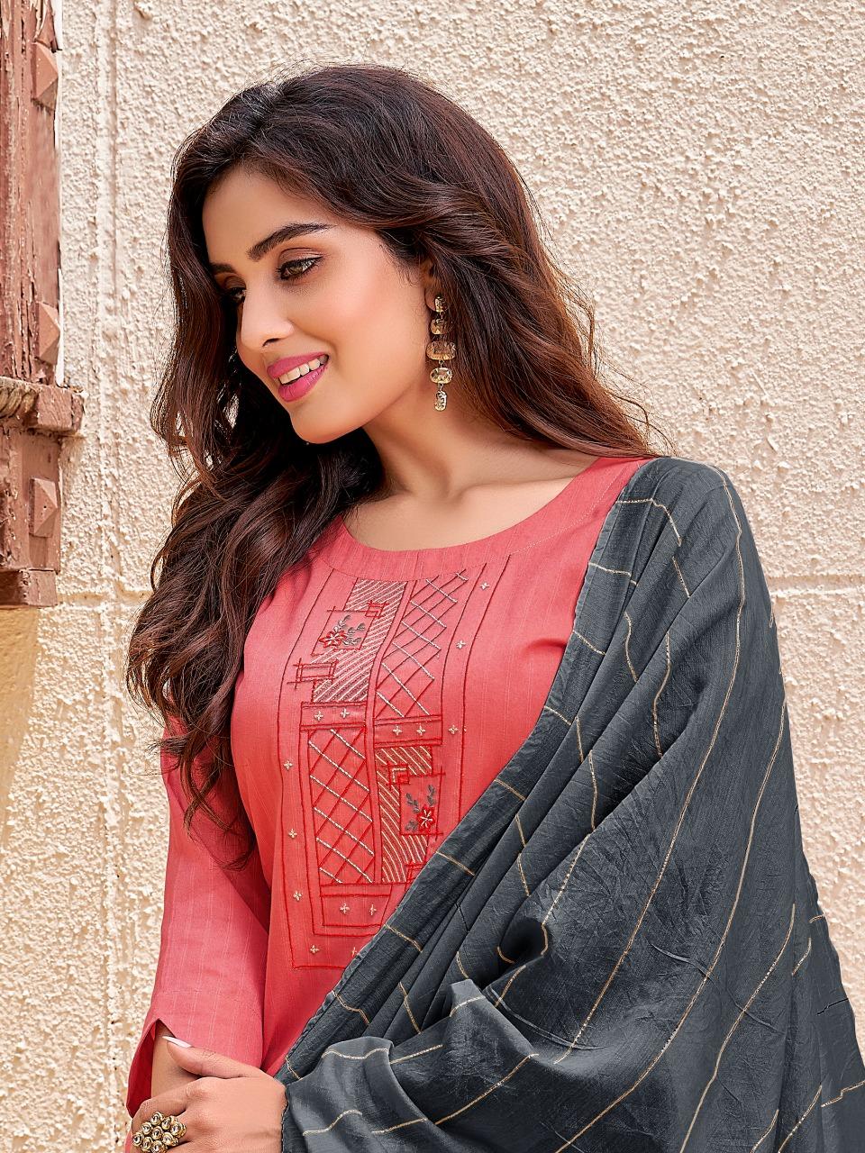 Banwery Prakruti Readymade Pant Style Suits Catalog Lowest Price