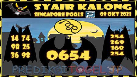 Kalong SGP Sabtu 09 Oktober 2021