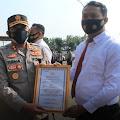 Berprestasi, 17 Anggota Polres Serang Dapat Penghargaan dari Kapolres