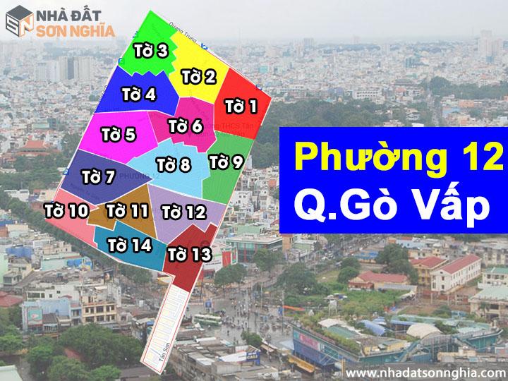 Thông tin quy hoạch phường 12 quận Gò Vấp