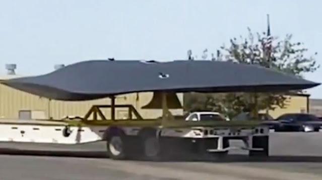 Viral Video Penampakan Pesawat Mirip Piring Terbang di Dekat Fasilitas Rahasia AS