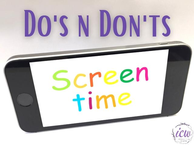 pemberian screentime ke anak